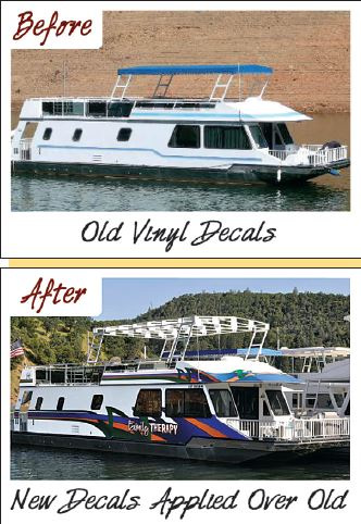 Ready To Update Your Graphics Online Site Makes It Easy - Houseboat decals