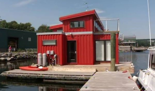 Gorgeous House Made From Storage Containers Houseboat Magazine