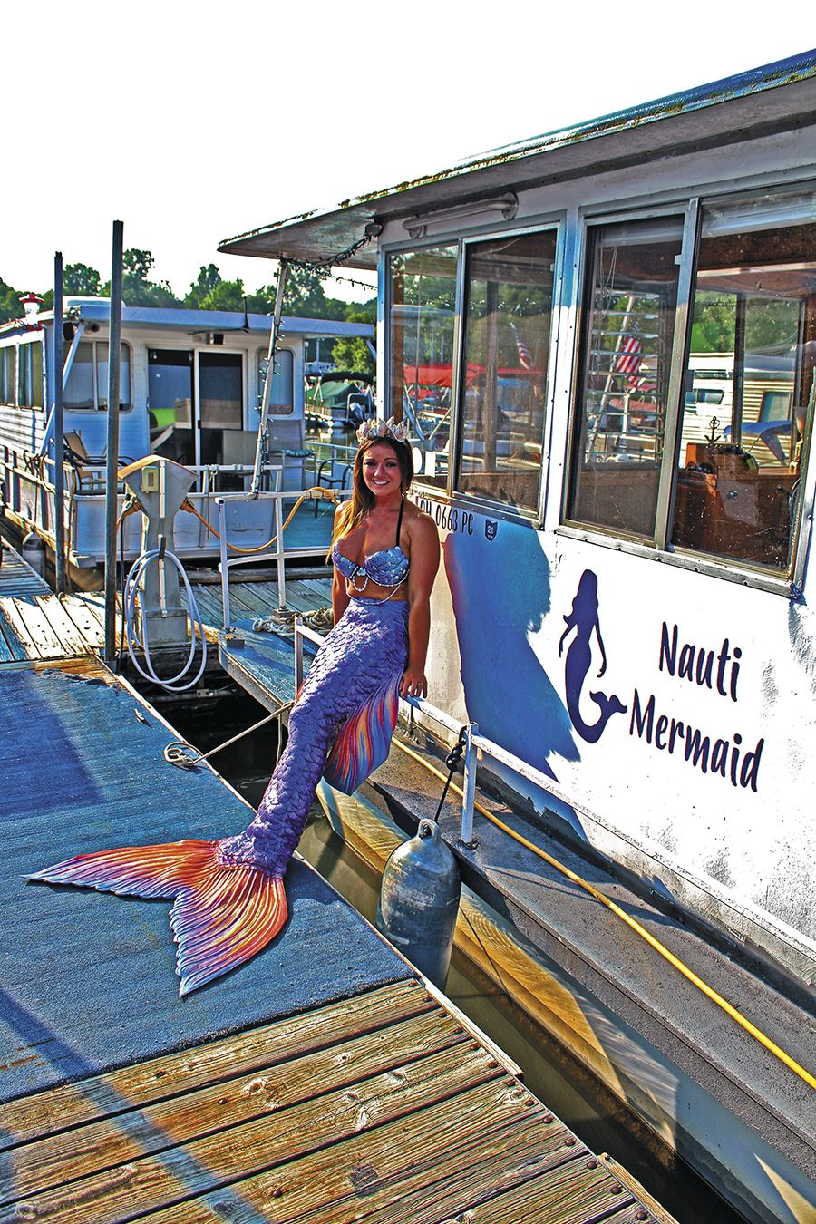 Mermaid Sighting Houseboat Magazine