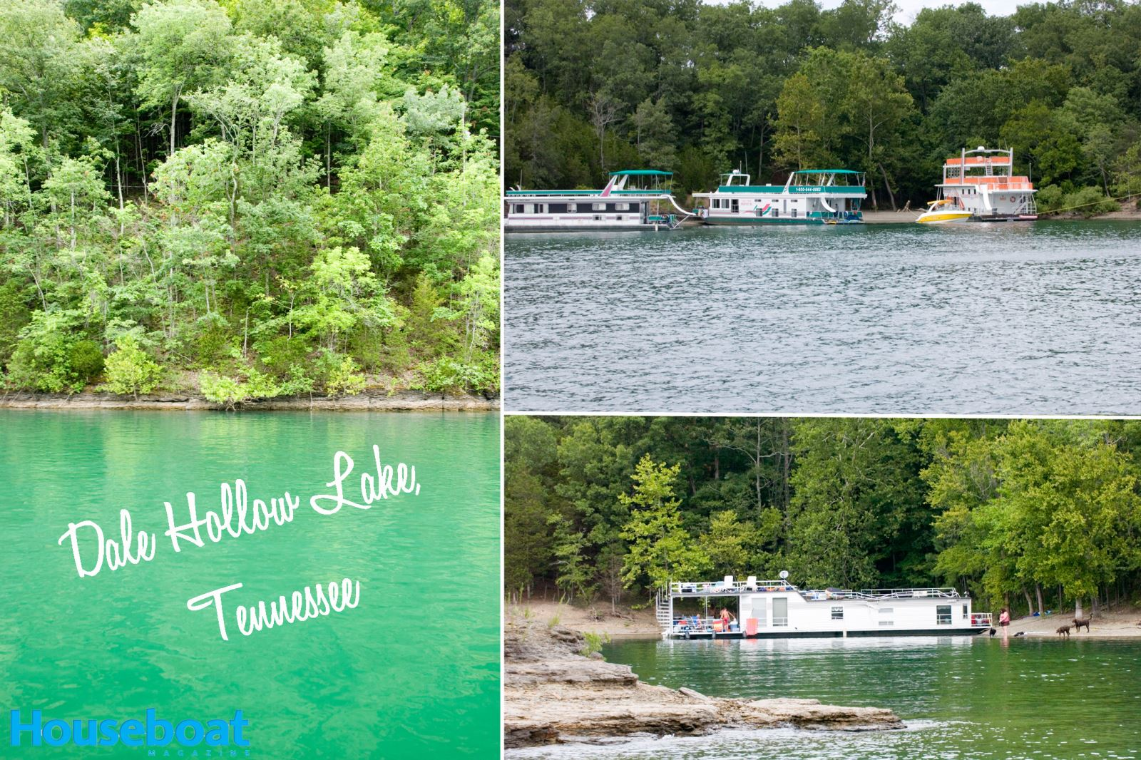 Top 10 Best Houseboating Lakes in the United States