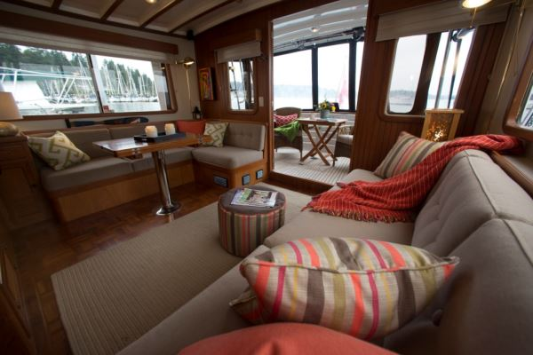 designing a brand new boat interiors are important houseboat magazine. Black Bedroom Furniture Sets. Home Design Ideas