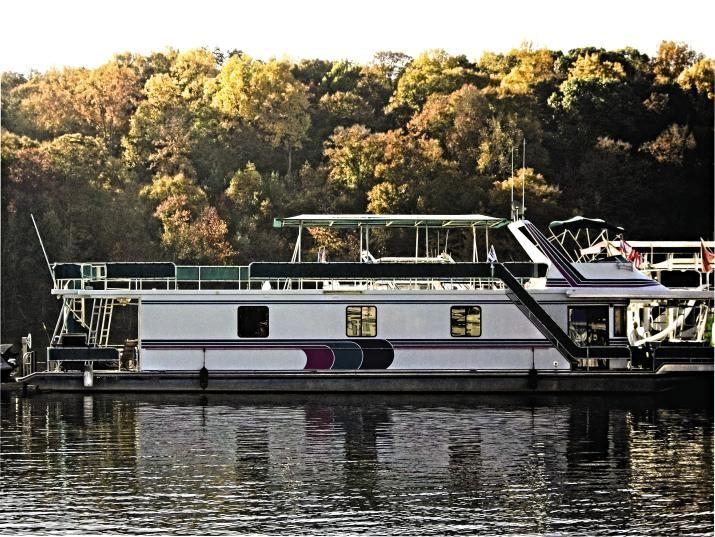 New Houseboat Graphics Houseboat Magazine - Custom houseboat graphics